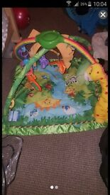 rainforest fisher price playmat