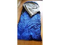 Sleeping Bags .Two Extra Large Vango Nitestar sleeping bags that zip together