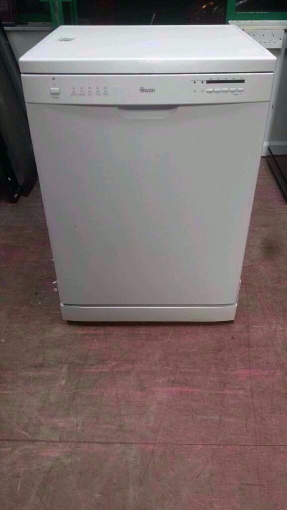 Swan White A+ Class 12-Place Dishwasher in great condition. Price £75