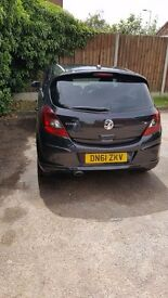 Vauxhall corsa has low insurance and tax bracket. MOT until December