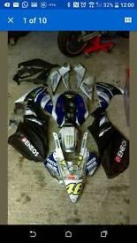 Yamaha YZF-R125 full fairing set