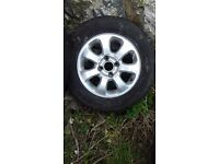 4 PEUGEOT ALLOY WHEELS 205/65R15