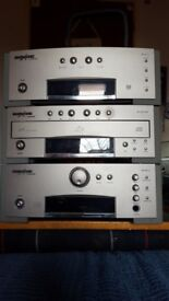 Grundig Audio System, Stereo Amplifier, Tuner and 3CD Changer