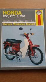 HAYNES motor bike repair manuals