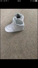 Infant pram trainers Nike