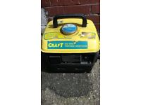 portable generators model type power craft -720 -2 stoke oil ready to use