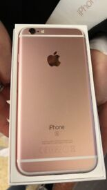 iPhone 6s rose gold/pink