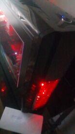 ** GAMING PC: RGB CASE AMD 8-CORE 4.0 GHz CPU GTX 960 GPU 16 GB 2400 MHZ RAM 1 TB HDD WINDOWS 10 **