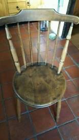 Oak stools / chairs