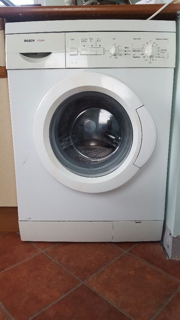 bosch maxx white free standing washing machine 80 ono in larbert falkirk gumtree. Black Bedroom Furniture Sets. Home Design Ideas