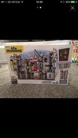 Minions mega blocks sets