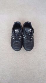 Children's football/rugby boots for sale. Child Size 10. Good condition with brand NEW socks