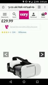 Itek 3D VR goggles