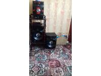 jvc mega sound hi fi system 400 watts out put flashing ligJVC mega sound