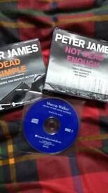 Three audio books