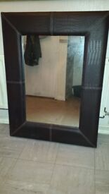 Large heavy mirror
