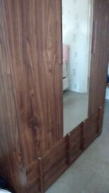 Good condition wardrobe from smoke and pet free home for only £70.