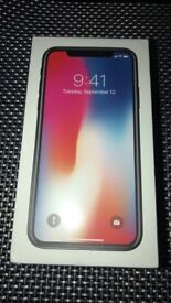 IPhone X 64gb space grey brand new in box on 02