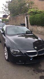 BMW 630i Black Coupe