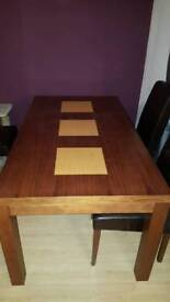 Next table (NOW GONE)