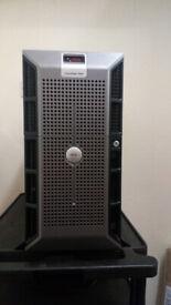 Dell PowerEdge 2900 2 x Xeon 2GHz quad core, 8GB RAM