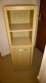 Bedroom or office storage unit in oak veneer