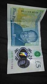 AD36 new 5 pound note