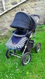 BEBECAR Adventure convertible pushchair