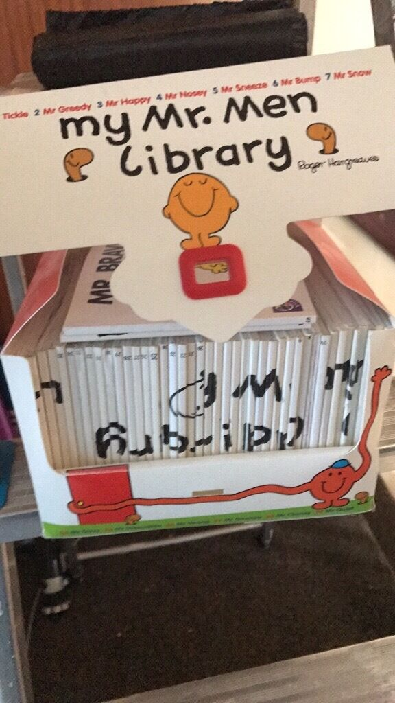 Mr men booksin Chatham, KentGumtree - Mr men not sure if while set all good condition lots there