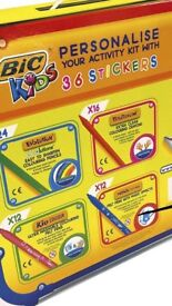 Bic Kids 100 Piece Colouring And Sticker Set