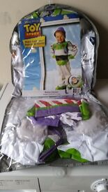 Toy story buzz lightyear platinum outfit age 5- 6 years