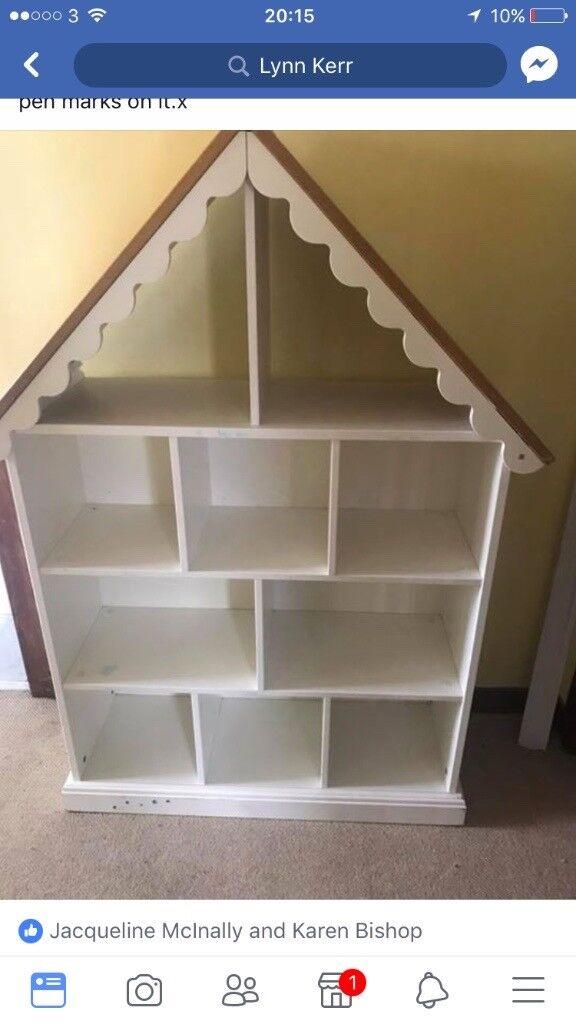 Kids storage house