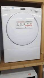 New graded Candy 9kg vented dryer with 12 months guarantee