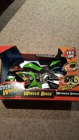 Motorbike with lights and sounds unopened