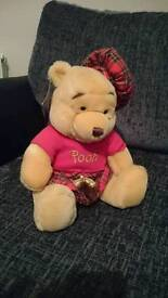 Scottish winnie the pooh, with tags £10