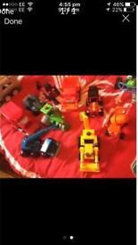 Bob the builder vehicles x9