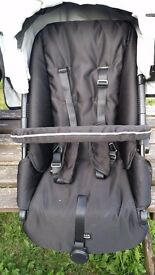 Britax B Smart4 push chair-Black Thunder