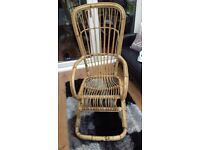 Bamboo rocking chair in good condition