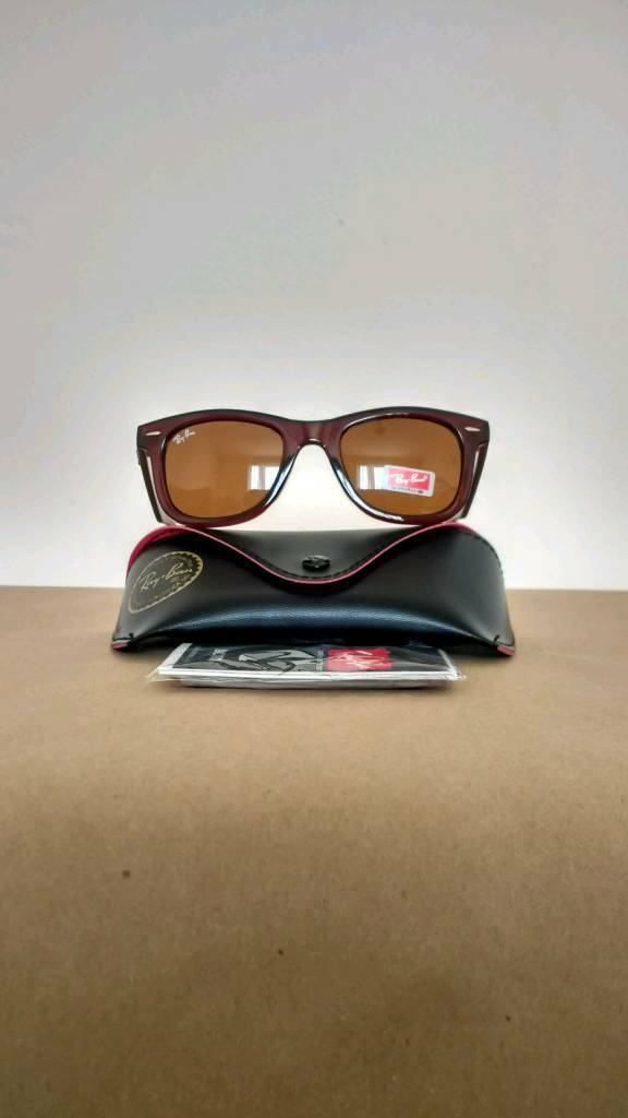 Rayban Wayfarer sunglasses brown