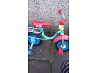 "Thomas and Friends My First 10"" Kids' Bike with Stabilisers"