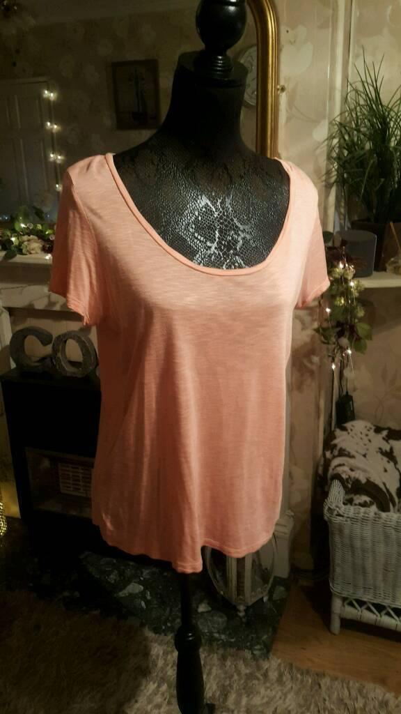 Peach t-shirt size 12