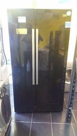 New Graded Beko American Fridge Freezer (12 Month Warranty)
