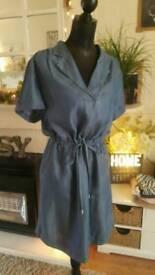 Denim dress size 12