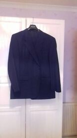 IMMACULATE CONDITION NAVY BAUMLER SUIT PURCHASED FROM SLATERS