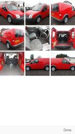 Ford Transit Connect - Red panel van - Side access door -twin rear doors. 12 months MOT tidy vehicle