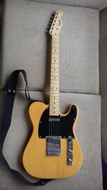 Squier Telecaster in Butterscotch (Fender)