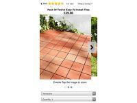 Garden tiles for sale