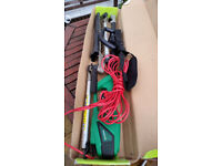 Hedge trimmer cutter electric extendable
