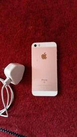 Iphone se rose gold 32gb or swaps