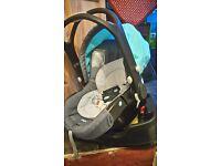Baby travel seat